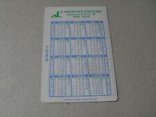 Calendrier de poche 1989 - L'assurance liègeoise