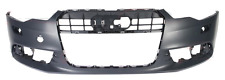 AUDI A6 C7 2012 - 2014 Front Bumper Cover with holes for headlight washers