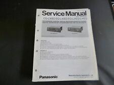 Original Service Manual Panasonic CQ-L30EE EG L40EE EG L31EG L41EG