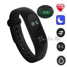 100% Original Xiaomi Mi 2 Bracelet Wristband Smart Band Heart Rate Monitor