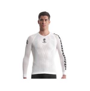 Assos LS skinFoil Summer evo7 Cycling Body Insulator Base Layer, Holywhite