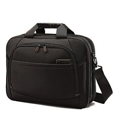 "Samsonite Pro 4 DLX 15.6"" Perfect Fit 2 Gusset Toploader Laptop Brief 57919-1041"
