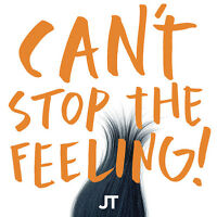 """Justin Timberlake - Can't Stop The Feeling! [New 12"""" Vinyl] Colored Vinyl, Orang"""