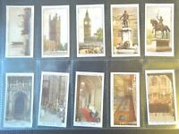 1931 Churchman THE HOUSES OF PARLIAMENT complete set 25 Tobacco Cigarette cards