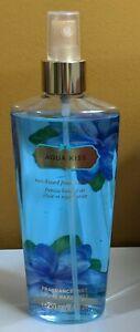 Victoria's Secret AQUA KISS Fragrance Mist Body Spray 8.4 fl oz