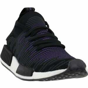adidas Nmd_R1 Stlt Primeknit Womens  Sneakers Shoes Casual   - Black - Size 5 B