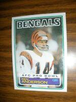 1983 Topps  #232  Ken Anderson Cincinnati Bengals  NrMt