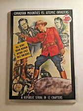 CANADIAN MOUNTIES VS. ATOMIC INVADERS CLIFFHANGER SERIAL 12 CHAPTERS 2 DVDS