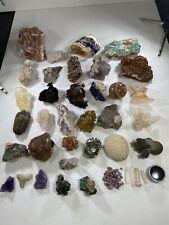 New ListingMinerals Crystals Specimens Lot #3 (40pcs)