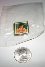 USPS Recognizing Deafness 29 Cent US Postage Stamp Enamel Tie/Hat/Lapel Pin NIP