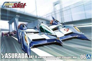 Aoshima Future GPX Cyber Formula Nu Asurada Aeroboost Aero Mode 1/24 Model Kit