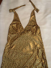 RUBIES One Size Jersey Shore Snooki Sexy Leopard Halter Dress Costume NWT