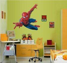 XL Spiderman Da bambino stanza bebè Per bambini Adesivi Artistici Parete Grande