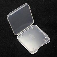 100 pcs SD Card Protective Plastic Case Holder, Storage Jewel Cases, New