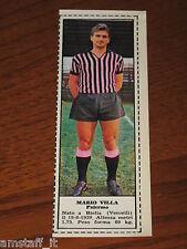 *MARIO VILLA PALERMO=FIGURINA=1966/67=ALBUM FIGURINE CALCIATORI TEMPO