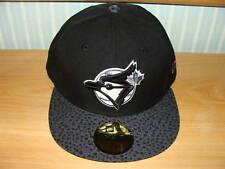Toronto Blue Jays New Era Hat Pebble Black Cap 7 3/8