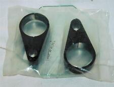 Motorcycle Accessory Bar Clamps Blacked Out Two of them