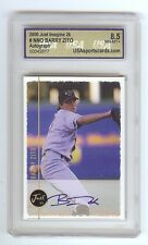 BARRY ZITO 2000 Certified AUTOGRAPH RC Graded 8.5 NM-MT+