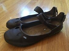 Women's MERRELL Shoes, Brown Espresso Leather Mary Jane 7, Excellent Condition