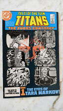 New listing Tales Of The New Teen Titans #42-1984 nm Deathstroke George Perez 1st Jericho