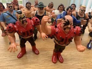 WWF Hasbro Vintage Wrestling Collection *JOB LOT* Golden Era 1980/90's BOSSMAN