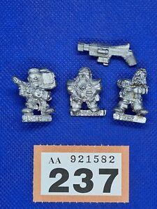 Warhammer 40k Space Marine Metal OOP Squat Heavy Weapons Team