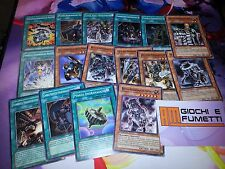 LOTTO 15 CARTE INGRANAGGIO ANTICO IN ITALIANO carte yu-gi-oh! ORIGINALI KONAMI