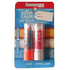 Rimmel Keep Calm and Baume À Levrès 2 x 3,7g 010 Transparent et 060