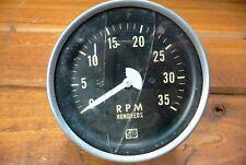 Stewart Warner 3500 Rpm Tachometer 3 12 Tachometer Gauge Sw