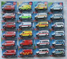 Siku Super International - Mercedes Sprinter Einsatzfahrzeuge 0805,0806,0808 usw