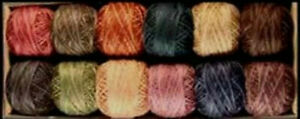 Heirloom Valdani Perle Cotton Size 12 Embroidery Thread Variegated Hand Dyed (H)