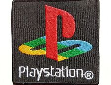 Playstation Console Iron On Patch Sew On Embroidered Patch T shirt Jacket Patch