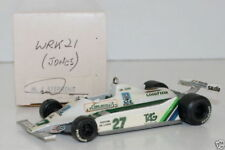 WESTERN MODELS SIGNED 1st VERSION - 1/43 SCALE - WRK21 WILLIAMS FW007 - A JONES