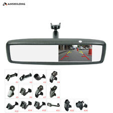 "Brand New 4.3"" TFT-LCD Special Rear View Mirror Car Monitor with Bracket"