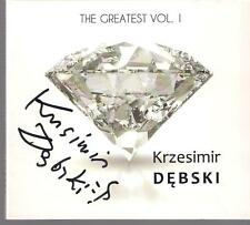 SIGNED KRZESIMIR DEBSKI - THE GREATEST VOL. 1 TOP RARE POLSKA POLAND POLISH