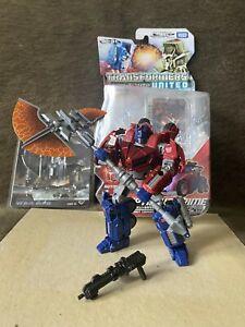 Transformers Takara United War for Cybertron Optimus Prime + Corbot V War Axe