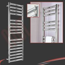 "500mm(w) x 1600mm(h) ""Galaxy"" Polished Stainless Steel Heated Towel Rail"