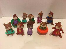 2009-2011 Alvin & the Chipmunks & Chipettes McDonalds Toys Cake Topper