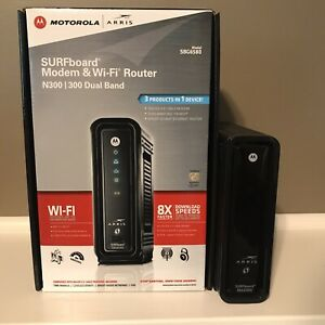 MOTOROLA SBG6580 (583315-001-00) Cable Modem (In Original Plastic & Box)