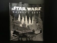 Brand New Star Wars Galaxy's Edge Millennium Falcon R2-D2 Reusable Tote Bag