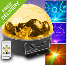 Sound Active Disco Party LED Light Jelly Mirror Ball Star Effect RGBAWP Lighting