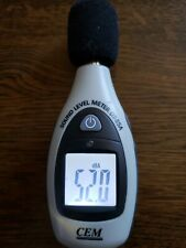 CEM DT-85A Sound Level Noise Meter