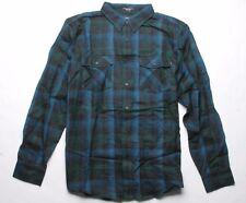 MATIX Newfound Flannel Shirt (L) Black