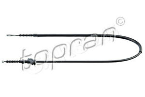 Left Rear Parking Brake Cable TOPRAN Fits AUDI 80 90 B3 893609721F