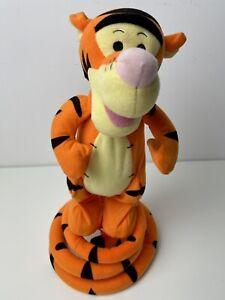 Turbo Tail Tigger Bouncing Talking Singing Winnie the Pooh Works Great Fun!