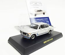 KYOSHO BMW 2002 Turbo 1973 /  1:64 / Silver / Miniature Collection of BMW