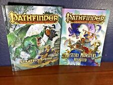 NEW Pathfinder STRATEGY GUIDE + CAMPAIGN SETTING Monster Revisited Book Lot Set