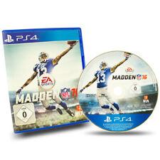 PS4 Playstation 4 Jeu Madden NFL 16 IN Emballage D'Origine