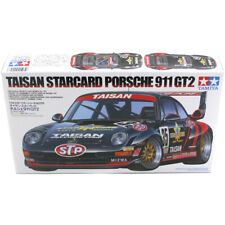 Tamiya 24175 Porsche 911 GT2 Taisan Starcard Race Car Model Kit - Scale 1:24