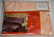 Vintage NOS Dupont Antron III Nylon Twin Fitted Top Sheet Elastic Bottom Corners